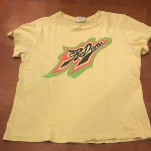 Redone yellow tshirt